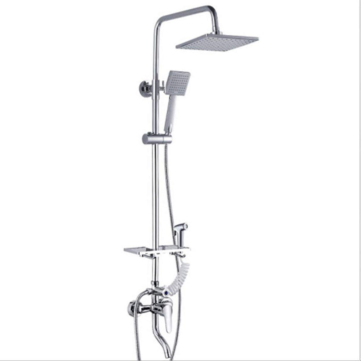 報いる再撮りめったにシャワー シャワー - 高圧スクエア大型ハンドシャワー/ 1.5 Mホースアジャスタブル水3/4モード節水シャワーホームスプレー