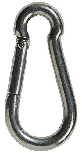 M5 cnbtr plata multifuncional 304/Acero inoxidable Screwgate mosquet/ón ovalado r/ápida Screwlock enlace anillo de bloqueo gancho Pack de 5/