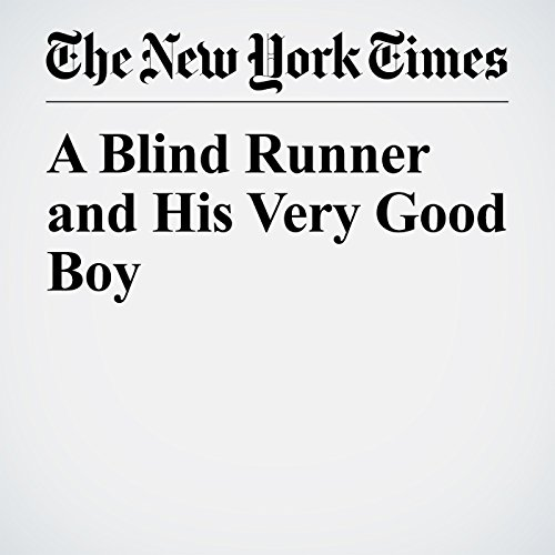 A Blind Runner and His Very Good Boy copertina