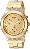 Swatch Full Blooded Homme & Femme 45mm Chronographe Date Montre SVCK4032G