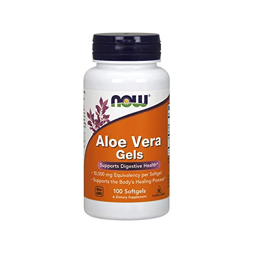 NOW Foods Aloë Vera Gel - 100 softgels