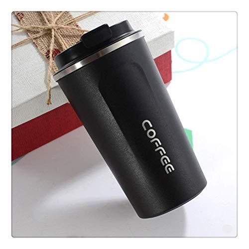 LIYONG Taza térmica con tapa de acero inoxidable para té, café, al vacío, botella de agua a prueba de fugas en el coche (color: E, tamaño: 510 ml) HLSJ (color: E, tamaño: 510 ml)