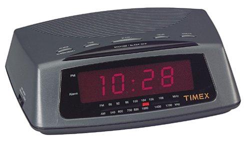 Timex(R AM/FM Alarm Clock Radio