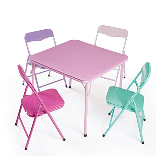 Heritage Kids 3Piece Table & Chair Set, Primary, 3 Piece