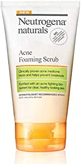 Neutrogena Skin Care Naturals Acne Foaming Scrub - 4.2 fl oz