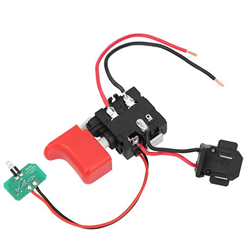 Dpofirs DCJZ1201 Drill Trigger Switch Drill Switch Electric Power Tool Switch Accessories,Micro Power Tool Switch,Angle Grinder Speed Controlfor Electric Hand Drills/Power Tools