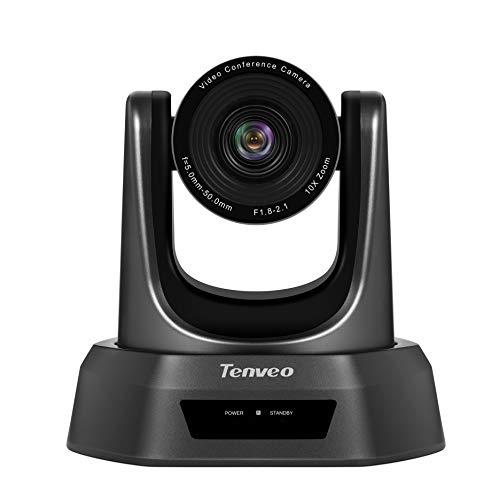 Tenveo 10X-USB Camera Video Conference Camera Optical Zoom Full HD 1080p USB PTZ Camera for Business Meetings (NV10U)