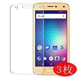 【3 Pack】 Synvy Screen Protector for BLU C5 LTE TPU Flexible HD Film Protective Protectors [Not Tempered Glass]