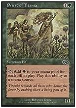 Magic: the Gathering - Priest of Titania - Urza's Saga