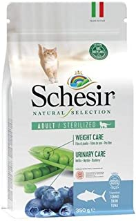 Schesir Natural Selection Dry Sterilized Cats Tuna 350 g