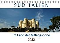 Sueditalien - Im Land der Mittagssonne (Tischkalender 2022 DIN A5 quer): Traumhaftes Sueditalien als Begleitung durch das Jahr (Monatskalender, 14 Seiten )
