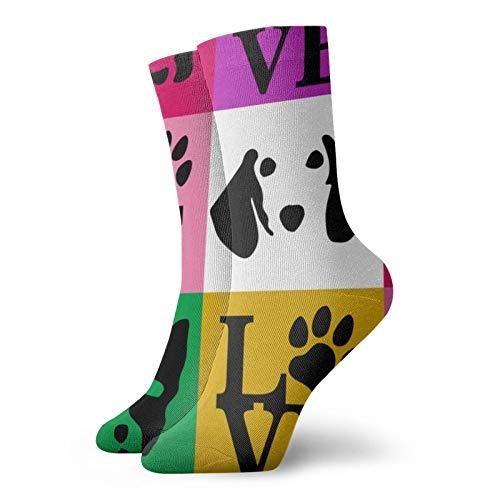 Calcetines para perros, calcetines de impresión 3D, calcetines de fútbol para correr
