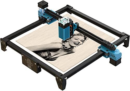 Twotrees TT-5.5S Laser 40W Lasergraviermaschine, Graviermaschine Lasergravur-Kit, Compressed Spot LD+FAC (Compressed Spot LD+FAC) Met positioneringsfunctie,Power:5000-5500mw