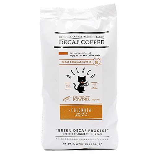 【DECACO (デカコ)】デカフェコーヒー コロンビア 粉150g