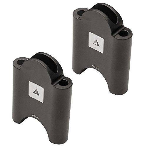 Profile Designs Aerobar Bracket Riser Kit Black, Black, 30mm