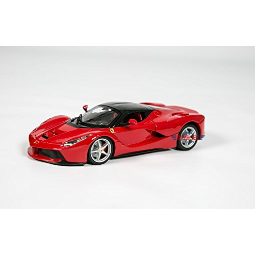 Bburago Ferrari Race and Play LaFerrari 1/24 Scale Diecast Model Vehicle Red