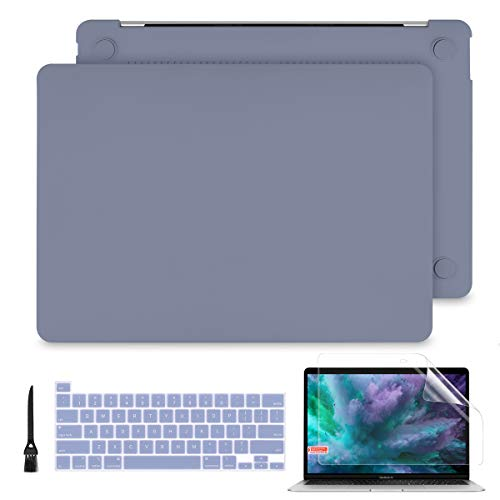 Batianda for MacBook Pro 13 Case 2020 Release A2289/A2251 Rubberized Hard Shell Case Cover+Keyboard Cover + Screen Protector for Newest MacBook Pro 13...