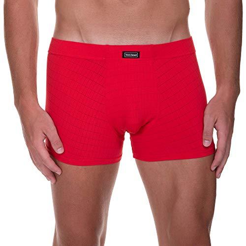 bruno banani Herren Short Check Line 2.0 Boxershorts, Rot (Rot Karo 1070), Large (Herstellergröße: L)