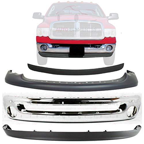 05 dodge ram 1500 steel bumper - 9