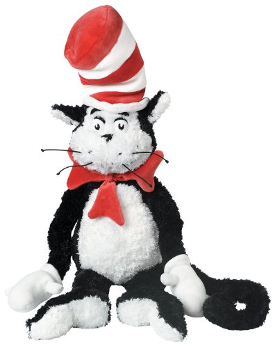 Manhattan Toy Dr. Seuss Cat in the Hat 21' Soft Plush Toy