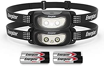 2-Pack Energizer LED Headlamp Flashlights