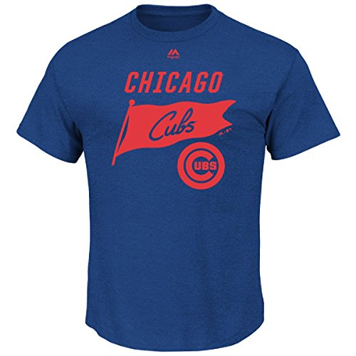 MLB T-Shirt Chicago Cubs Again Next Year Shirt Tee Baseball (Groß)