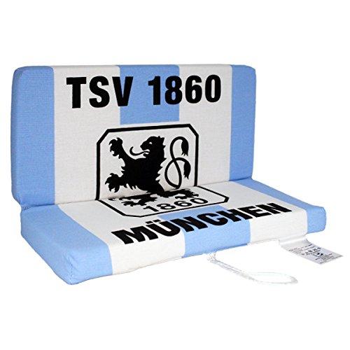 Unbekannt TSV 1860 München Klappkissen Fahne