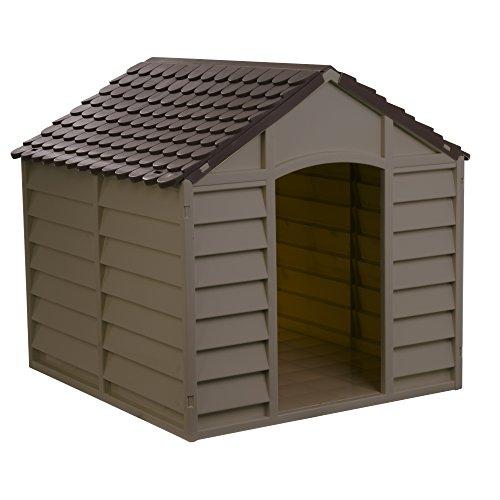 Starplast Mocha / Brown Large Dog House/Kennel