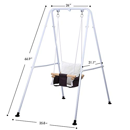 41AYFfvjAFL Best Soothing Baby Swing for Baby That Likes to Be Held 2021