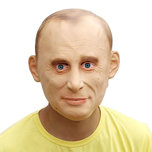 PartyCostume - Wladimir Putin Maske - Präsident Berühmte Leute Promi Die Maske