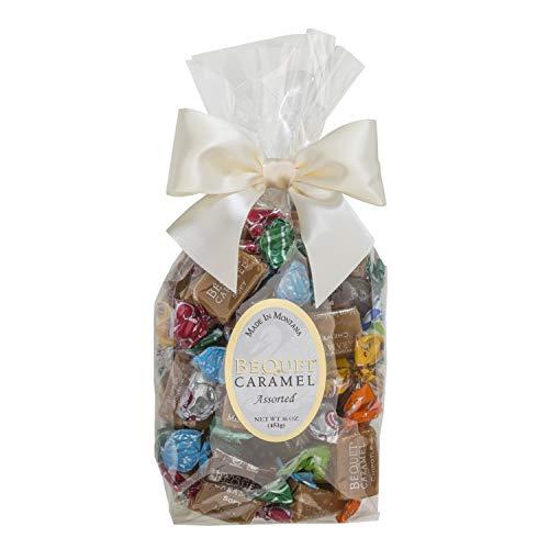 Béquet Caramel Assorted Top Varieties 16oz Gift Bag