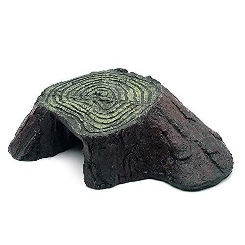 takestop® schildpad schildpad 20,5 x 13 x 5 cm tuindecoratie voor aquarium