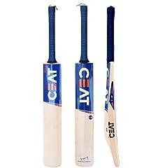 Maximum Edge Thickness For Power Stroke Play Premium Sports Quality Cricket Bat Medium (2.10 2.12) Light (2.7 2.9)