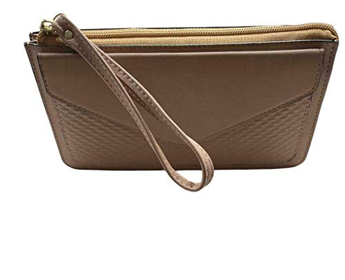 Women's Purse Purse with Card Slots Elegant Stylish Wallet Zip Mobile Phone Case Purse Handbag Purse for Smartphone Horizontal