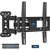 Mounting Dream TV Wall Mount Full Motion for 26-55 Inch TVs with 19.3' Extension, TV Mount with Articulating Arm up to 60LBS VESA 400x400mm - Easy Single Stud Install