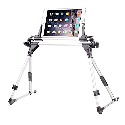 LAHappy Soporte para Tablet teléfono, Soporte Ajustable para teléfono/Tableta con Brazo de Acero, Soporte para Perezoso, para tabletas de 4'-10.5' iPad Pro Galaxy Tab Surface Pro