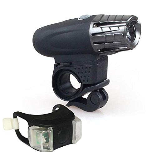 Fietslamp voor mountainbike, nachtlampje, waterdicht, USB-oplader, achterlicht