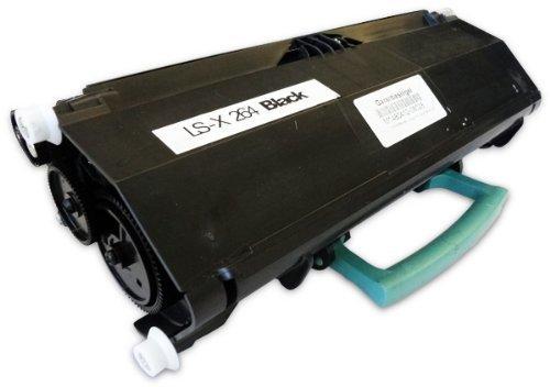 Bubprint Toner kompatibel für Lexmark X264H21G für X264DN X363DN X364DN X364DW 9000 Seiten Schwarz Black