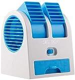 Hanaa Enterprise Mini Fan & Portable Dual Bladeless Small Air Conditioner Water Air Cooler Powered...