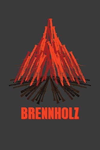 Brennholz: Jahres-Kalender für das Jahr 2020 DinA-5 Jahres-Planer Organizer für Camper und Camping Outdoor Fans