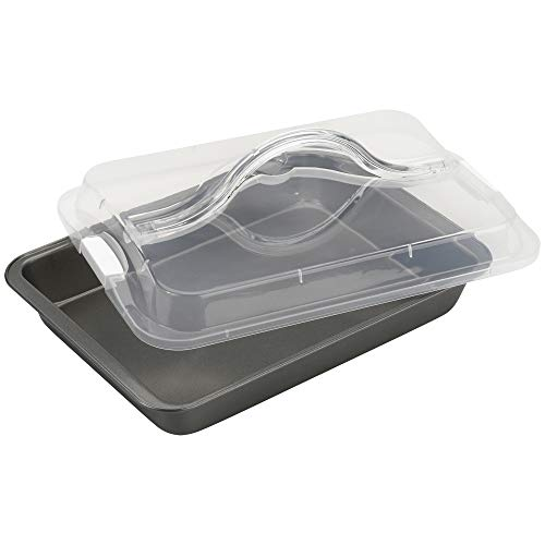 "Good Cook 04307 N Take Baking Pan, 9""x13"", Black"