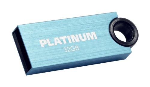 Platinum Slender Speicherstick 32GB USB 2.0 blau