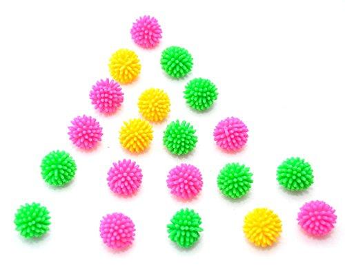 20 X IGEL Ball Stressball mit Noppen 2 CM by schenkfix