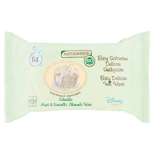 Disney Baby BIO ICEA Eco - cosmetica - 64 vochtige doeken