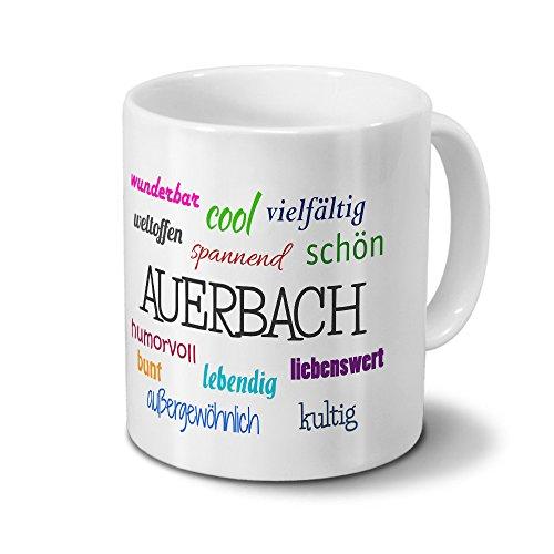 Städtetasse Auerbach - Motiv