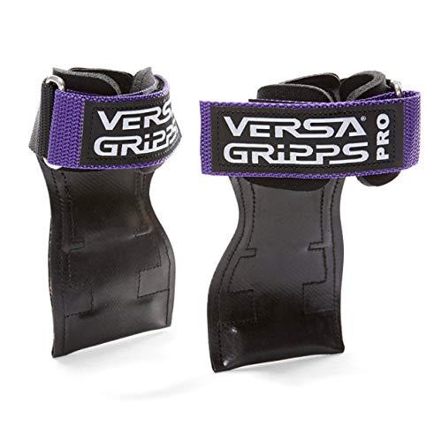 Versa Gripps PRO パワーグリップ 筋力トレーニング・リストラップ made in the USA (Purple/ムラサキ, XS:12.5-15.5cm)