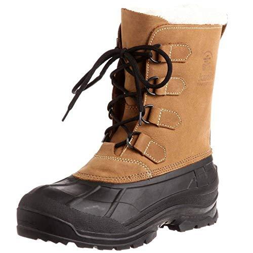 Kamik Alborg Damen Canadian Boots, Tan/Brun/Pale, 37