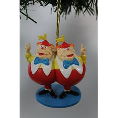 Disney's Alice in Wonderland  Tweedledee and Tweedledum  Ornament- Limited Availability
