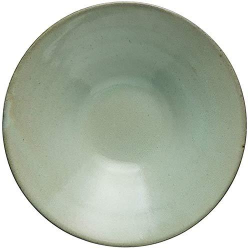 Miwaimao Keramiknapf de Split porción Superficial de Ensalada de Frutas Mezcla de Granos de Sopa Buena Pasta fría West tazón Creativo Inicio 6 Pulgadas 0.72kg Platos