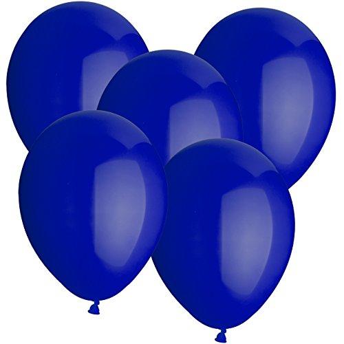 50 Latexballons Ø 30cm Dunkelblau
